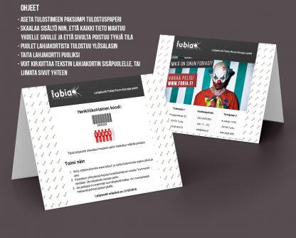 Lahjakortti 5:lle henkilölle PDF