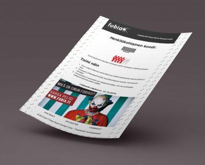 Lahjakortti 4:lle henkilölle PDF